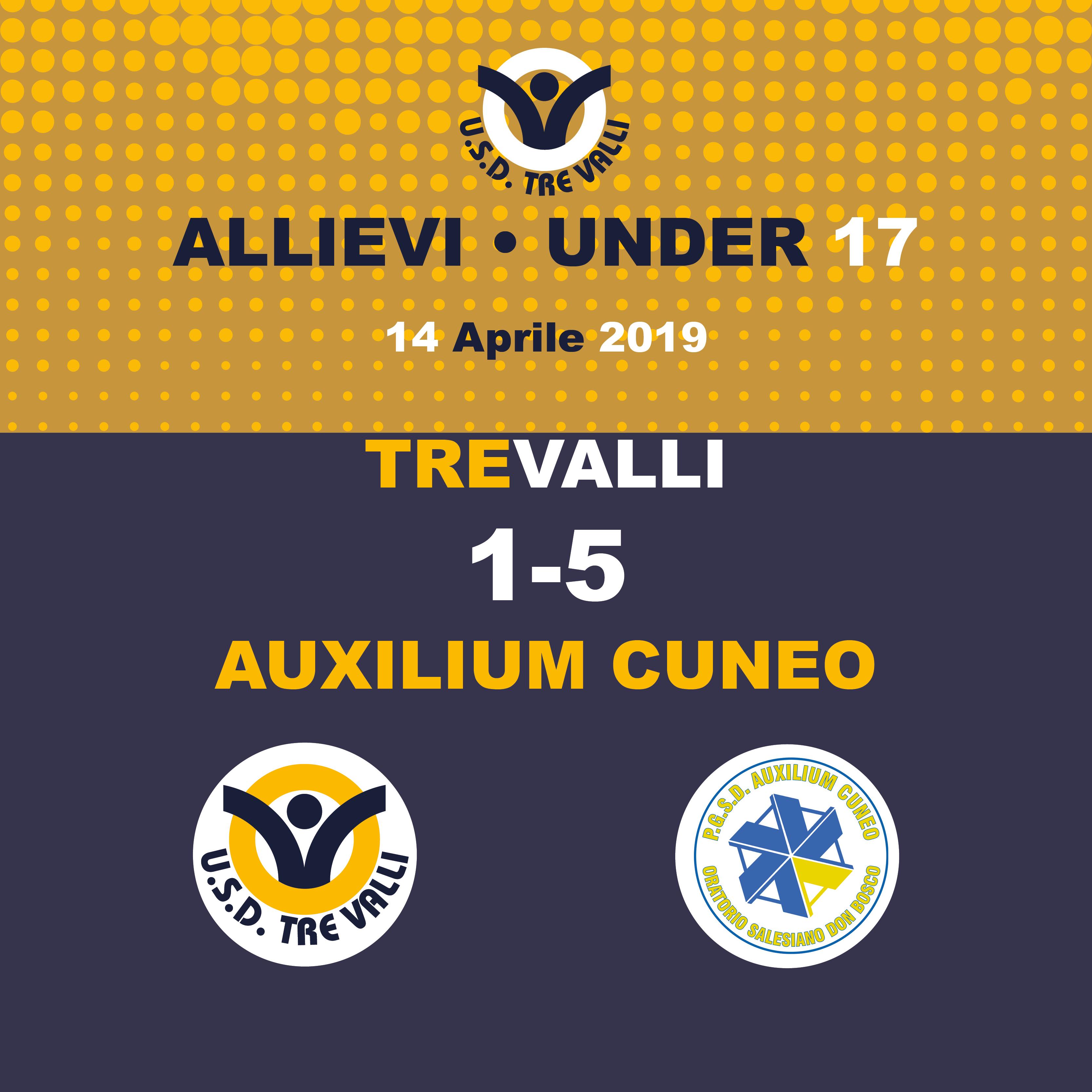 Auxilium Cuneo – Allievi